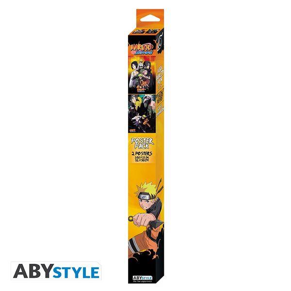 Naruto Shippuden Poster Ninjas Set 52 x 38 cms