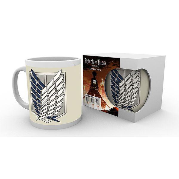Recon Squad Mug Attack on Titan 320 ml