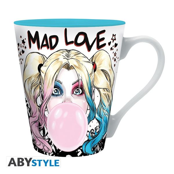 Taza Harley Quinn Mad Love DC Comics 250 ml
