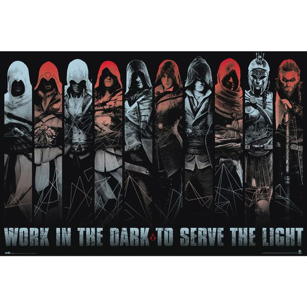 Poster Assassin's Creed Work In The Dark