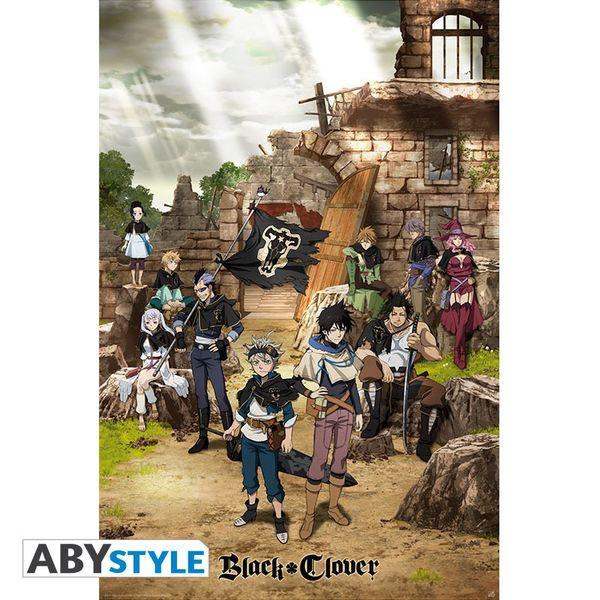 Black Clover Poster Black Bull Squad & Yuno 91,5 x 61 cms
