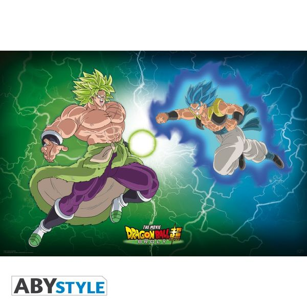 Poster Broly VS Gogeta Dragon Ball Super  91,5 x 61 cms