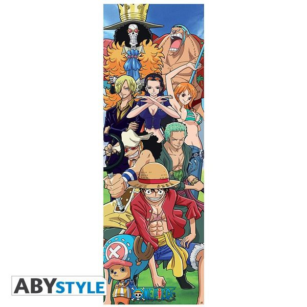 Crew One Piece Door Poster 53 x 158 cms