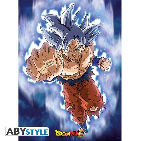 Poster Dragon Ball Super Goku Ultra Instinct 52 x 38 cms