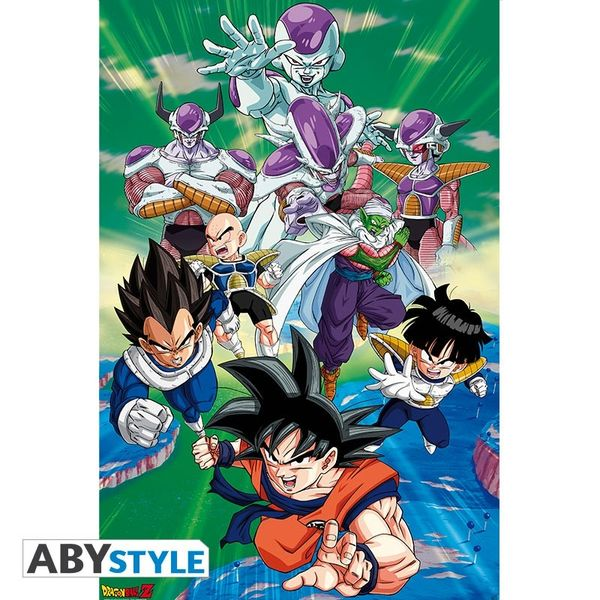 Poster Dragon Ball Z Freezer Group Arc 91,5 x 61 cms
