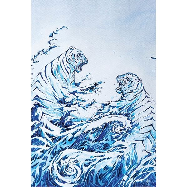 Poster Marc Allante The Crashing Waves