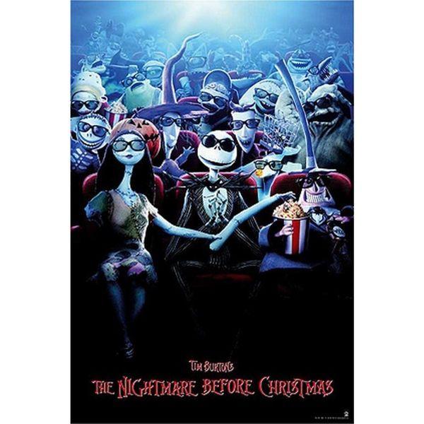 Poster Pesadilla antes de Navidad Cine 91,5 x 61 cms