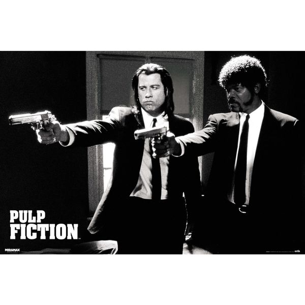 Poster Pulp Fiction Divine Intervention 91,5 x 61 cms