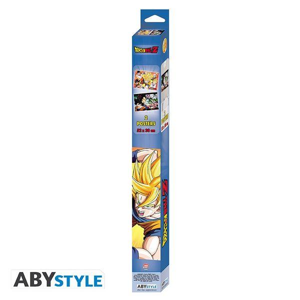 Poster Saiyans Dragon Ball Z Set 52 x 38 cms