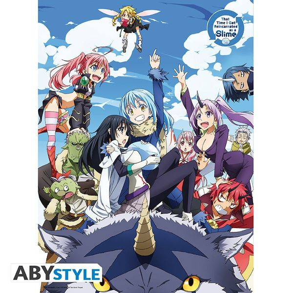 That Time I Got Reincarnated As A Slime Group Poster 52 x 38 cms