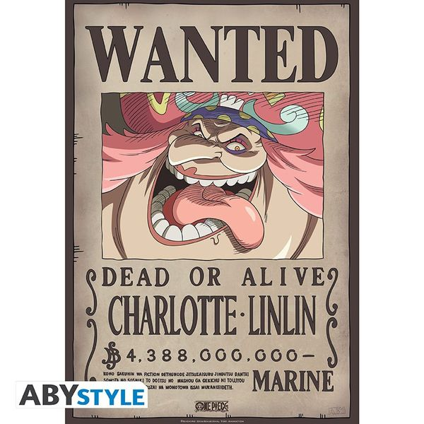 Wanted Big Mom Poster One Piece 52 x 38 cms