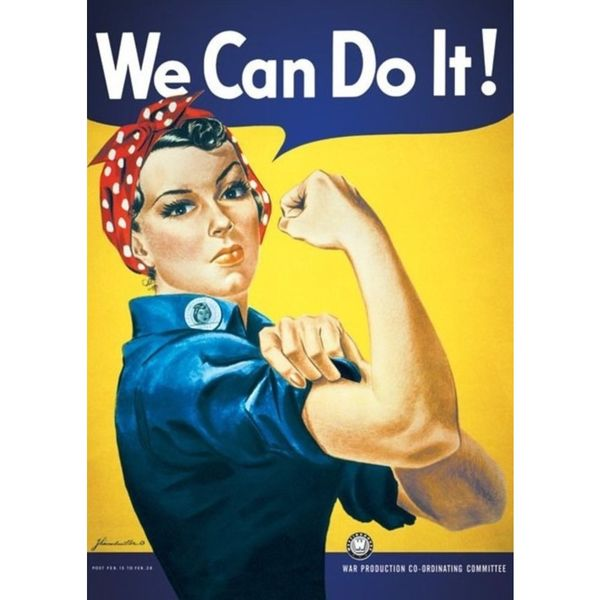Poster We Can Do It 91,5 x 61 cms