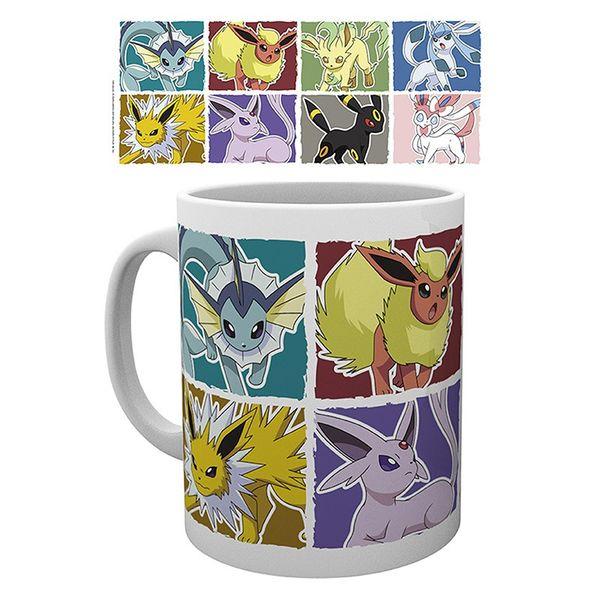 Taza Eevee Evoluciones Pokemon 320 ml