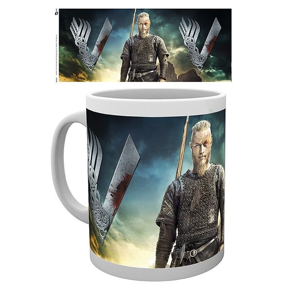 Ragnar Lothbrok Mug Vikings320 ml