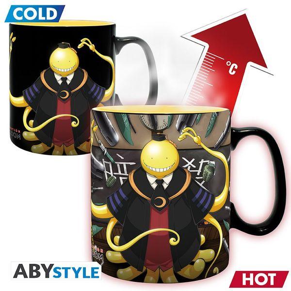 Koro Sensei Attacked Heat Change Mug Assassination Classroom 460 ml