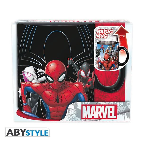 Taza Termica Spiderman Multiverse Marvel 460ml