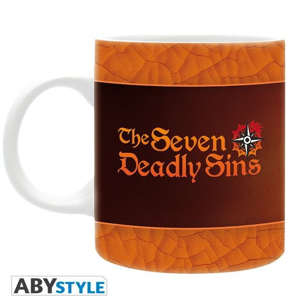 7 Deadly Sins Mug The Seven Deadly Sins 320ml