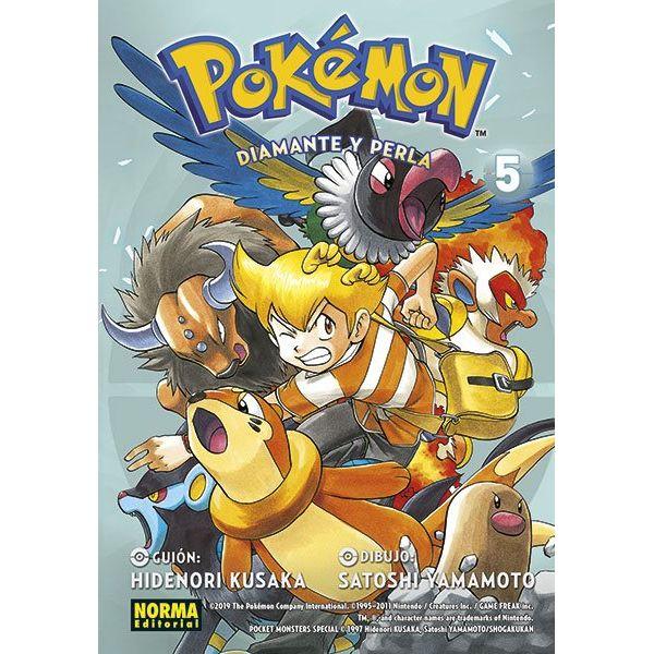 Pokémon - Diamante y Perla #05 Manga Oficial Norma Editorial