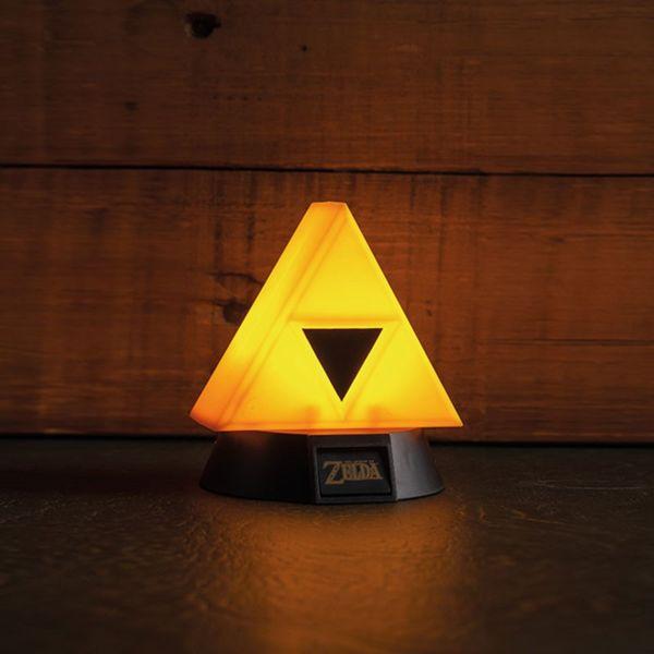 Lámpara 3D Trifuerza The Legend of Zelda
