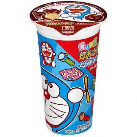 Lotte Capuccho Doraemon Chocolate Flavored Corn Cracker
