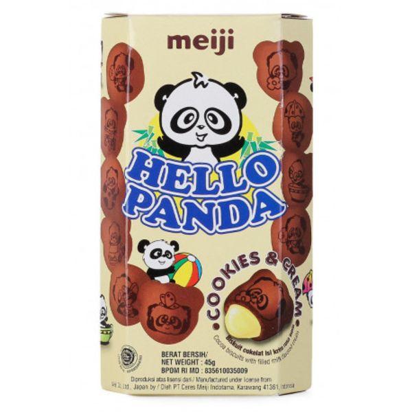 Galletas Hello Panda Cookies & Cream Meiji