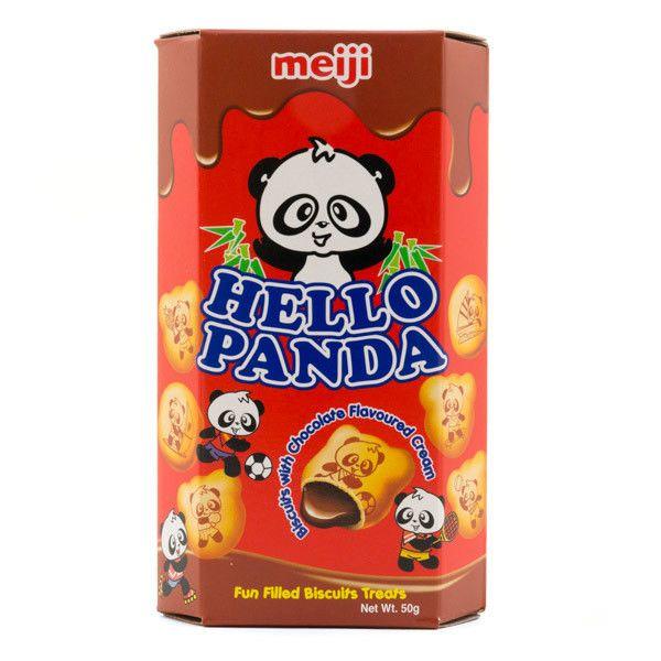 Galletas Hello Panda crema de Chocolate Meiji