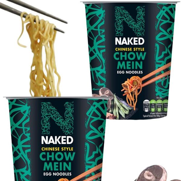 Ramen Noodles Huevo Chinese Style Chow Mein Naked Noodle