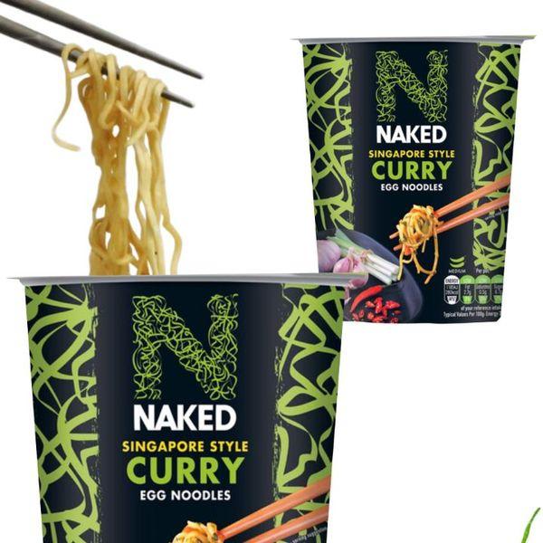 Singapore Curry Ramen Noodles