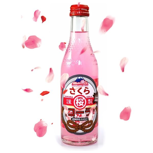 Refresco Sakura Cola Monte Fuji 240 ml