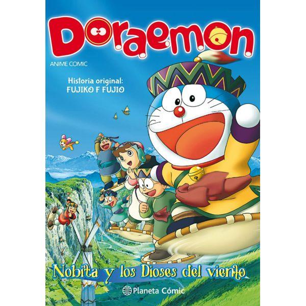 Doraemon: Nobita y los Dioses del Viento Manga Oficial Planeta Comic