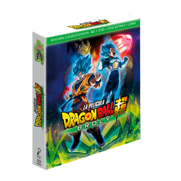 Dragon Ball Super Broly The Film Collector's Edition Bluray