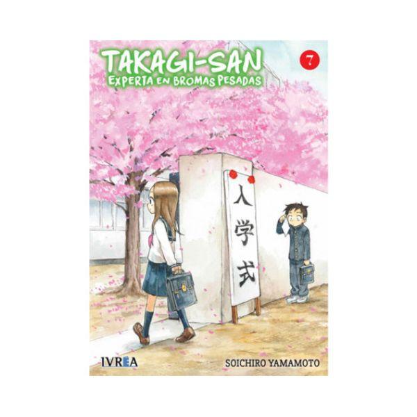 Takagi-san, Experta En Bromas Pesadas #07 Manga Oficial Ivrea