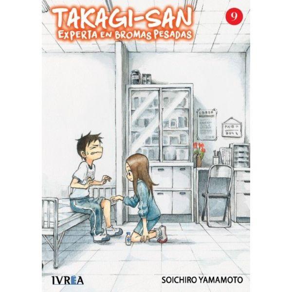 Takagi-san, Experta En Bromas Pesadas #09 Manga Oficial Ivrea