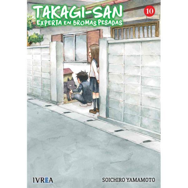 Takagi-san, Experta En Bromas Pesadas #10 Manga Oficial Ivrea