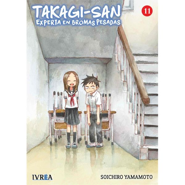 Takagi-san, Experta En Bromas Pesadas #11 Manga Oficial Ivrea (spanish)