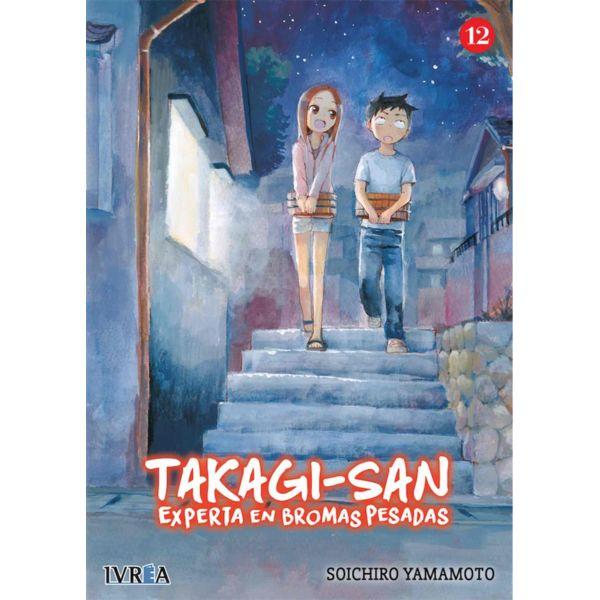Takagi-san Experta En Bromas Pesadas #12 Manga Oficial Ivrea