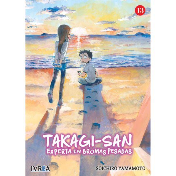 Takagi-san Experta En Bromas Pesadas #13 Manga Oficial Ivrea