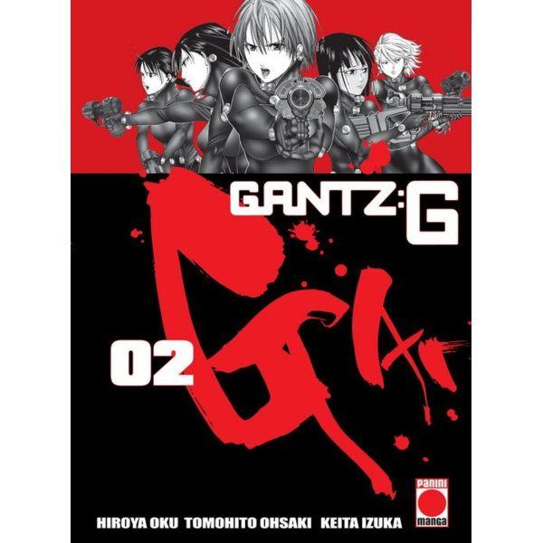 Gantz:G #02 Manga Oficial Panini Manga (spanish)