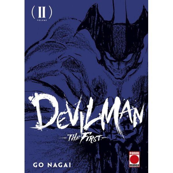 Devilman: The First #02 Manga Oficial Panini Manga (spanish)