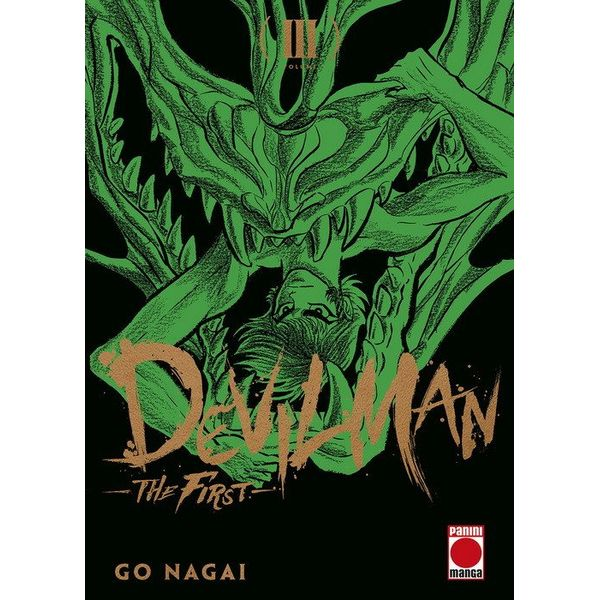 Devilman: The First #03 Manga Oficial Panini Manga