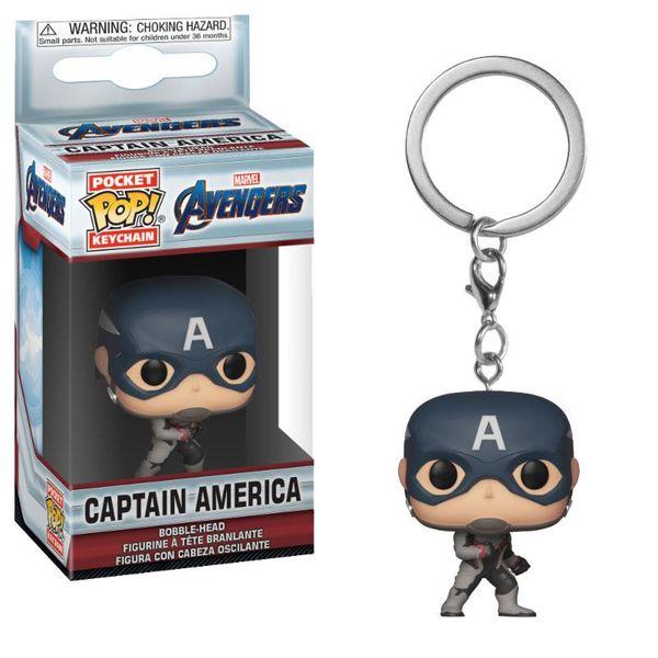 Captain America Keychain Avengers Endgame POP!