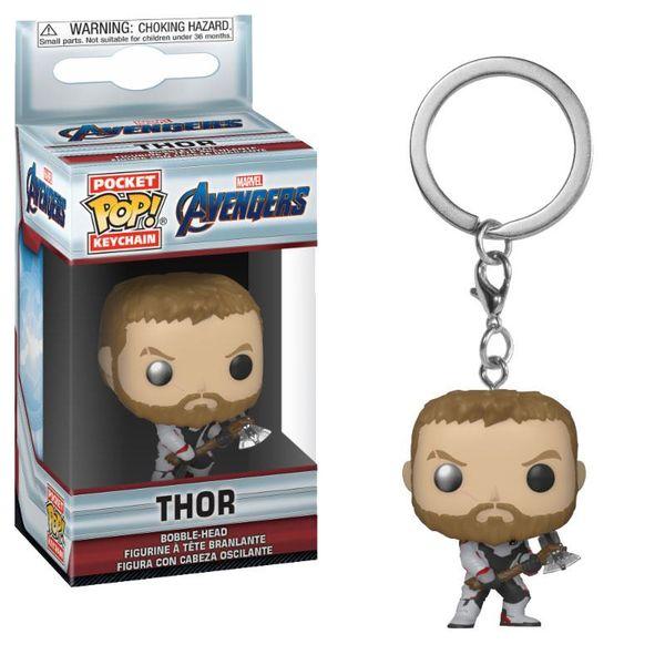 Thor Keychain Avengers Endgame POP!
