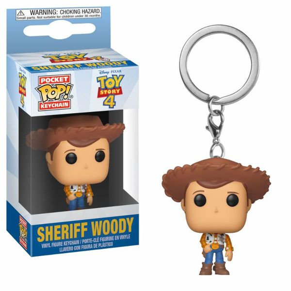 Woody Keychain Toy Story 4 POP!