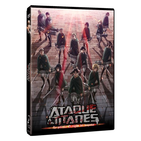 Ataque a los Titanes La Película: El Rugido del Despertar DVD