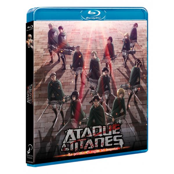 Attack On Titan Bluray La Película: El Rugido del Despertar