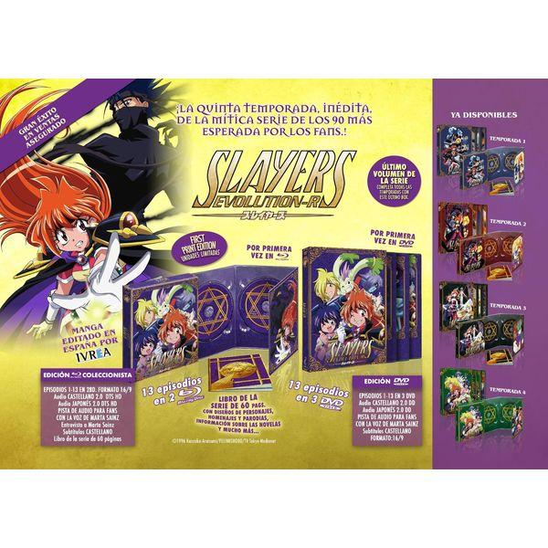 Slayers Evolution-R Quinta Temporada DVD