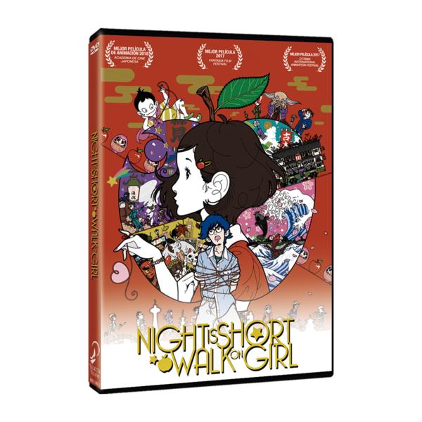 DVD Night Is Short Walk On Girl