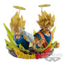 Figura Vegeta SSJ & Son Goku SSJ Dragon Ball Z Figuration Gogeta Vol 2