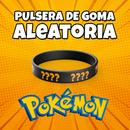 Pulsera de goma Pokemon Aleatoria Regalo JUMP