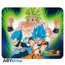 Alfombrilla Flexible Broly VS Goku & Vegeta Dragon Ball Super